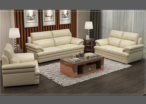 Bộ sofa văng da E466