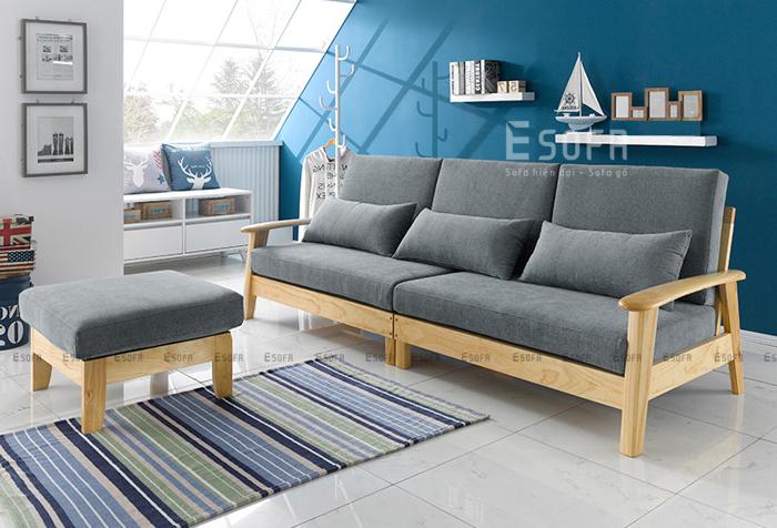 Tận hưởng cảm giác ấm áp cùng sofa gỗ