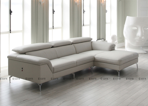 Sofa góc da Hàn Quốc E467