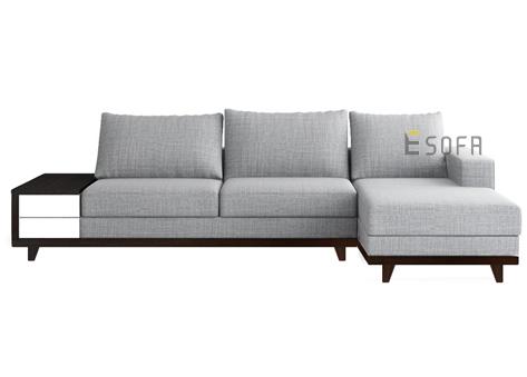 Sofa góc E66 nỉ Indo
