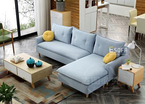 Sofa nỉ góc E64