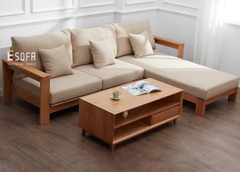 Sofa gỗ đệm E214