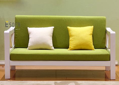 Sofa văng gỗ đệm E181