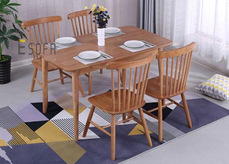 Bộ bàn ăn 4 ghế ED06