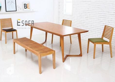 Bộ bàn ăn hiện đại đơn giản ED05