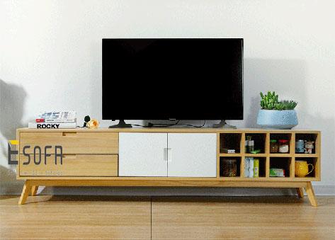 Kệ tivi phòng khách hiện đại ET08