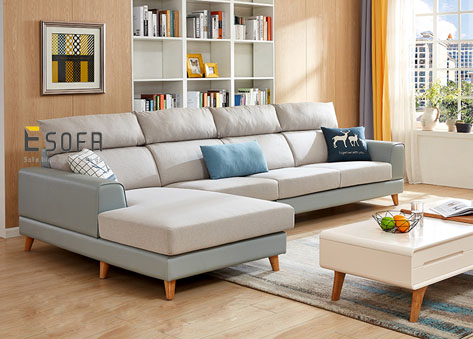 Sofa góc chữ L hiện đại E70