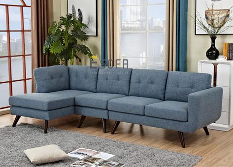 Sofa góc chữ L hiện đại E73