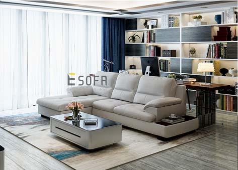 Sofa Góc L hiện đại E84