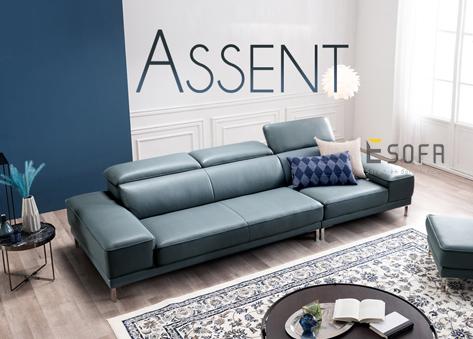Sofa văng da hiện đại E86