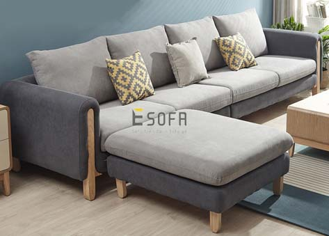 Sofa Văng Nỉ hiện đại E77