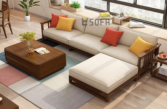 Sofa văng gỗ E222