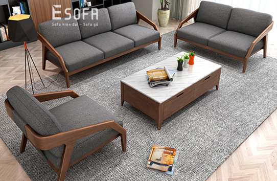 Sofa văng gỗ E232