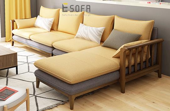 Sofa gỗ E237
