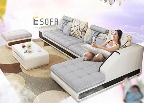 Sofa góc chữ L E114