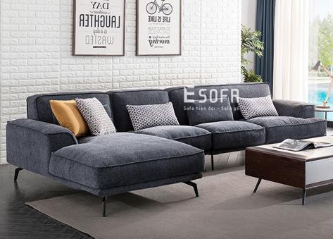 Sofa góc nỉ E116