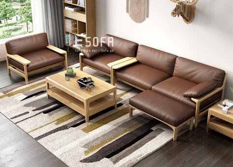 Sofa gỗ E190