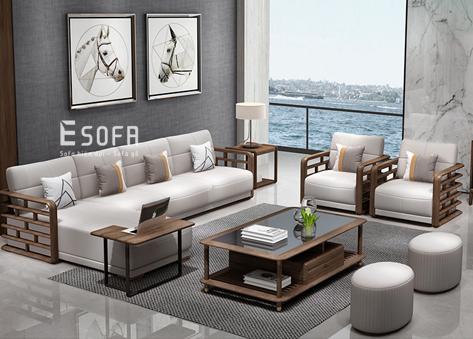Sofa gỗ E221