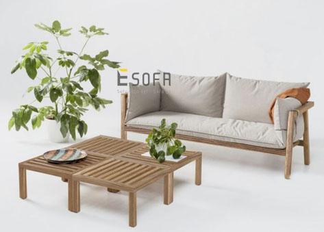 Sofa gỗ E197