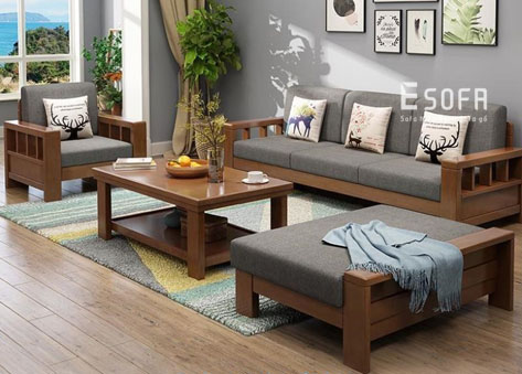 Sofa gỗ E200