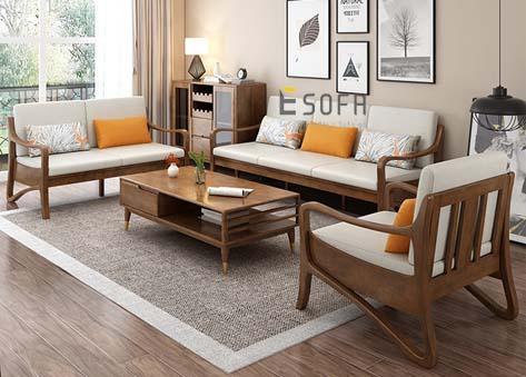 Sofa gỗ E204