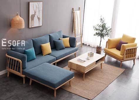 Sofa gỗ E205