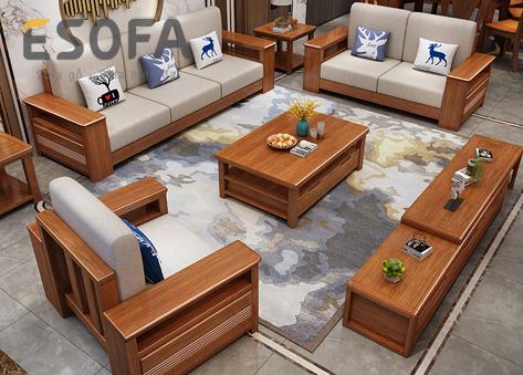 Sofa gỗ E264