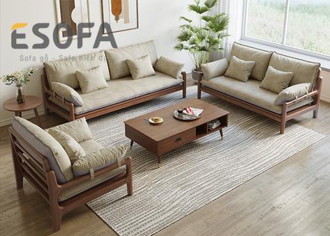 Sofa văng gỗ E266