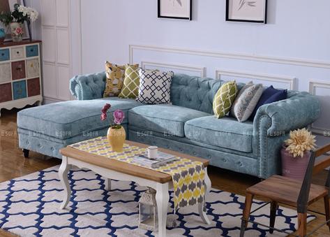 Sofa tân cổ điển E464
