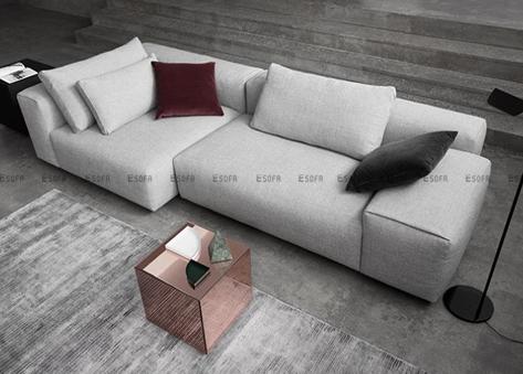 Sofa văng nỉ E460