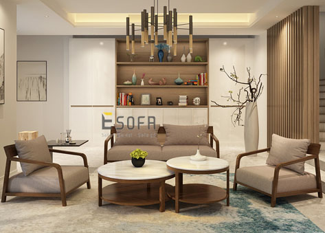 Sofa văng gỗ E188