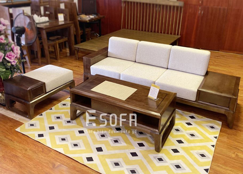 Bộ sofa văng gỗ EH002