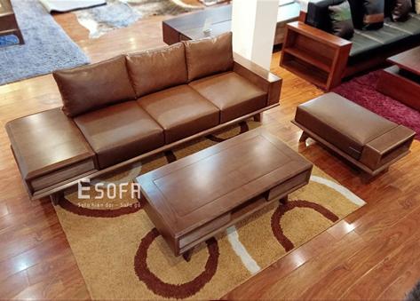 Bộ sofa văng gỗ EH010