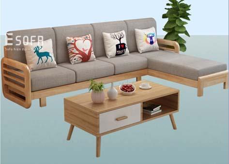 Sofa gỗ E208
