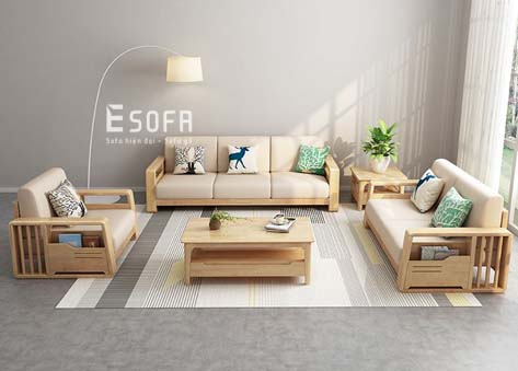 Sofa gỗ E209