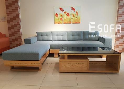 Sofa gỗ đệm E220