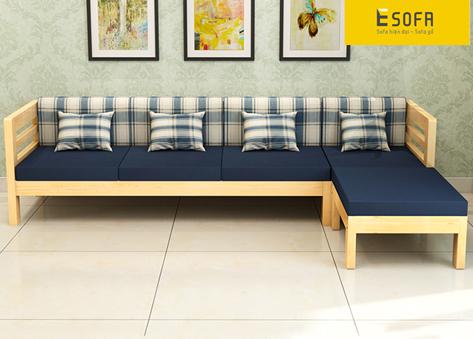 Sofa văng gỗ thông minh E151