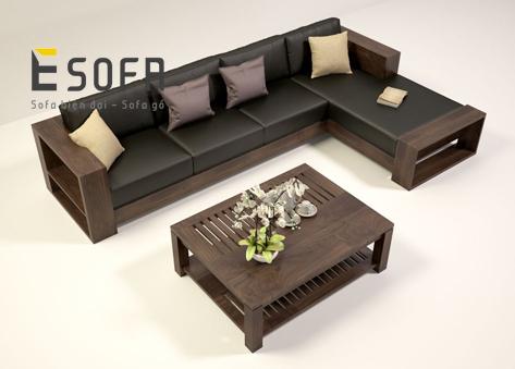 Sofa gỗ E176
