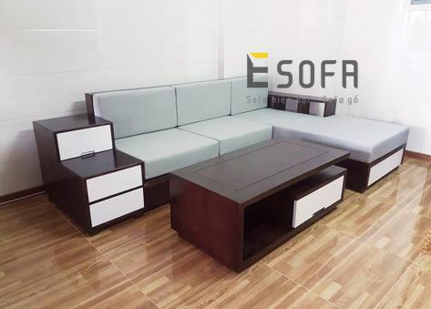Sofa gỗ E224