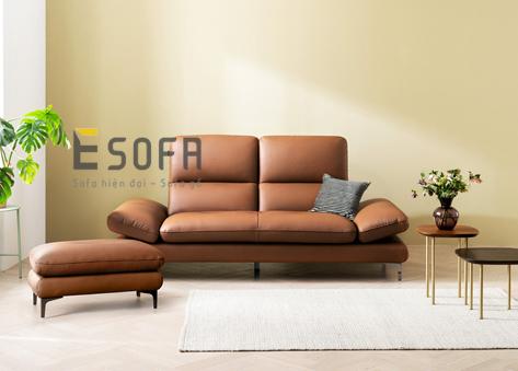 Sofa văng da E128