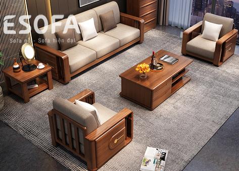 Sofa văng gỗ E270